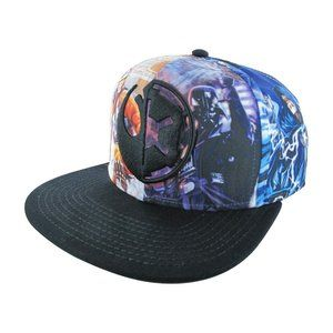 Star Wars Imperial Rebel Embroidered Logo Sublimated Graphic Print Hat - OS Cap